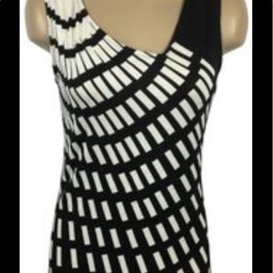 Cabi black and white top!